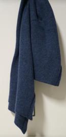 P-Modekontor unisex shawl art. 5938534-4 - jeansblauw gemêleerd