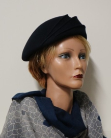 Complit dameshoed art. 21268 - donkerblauw