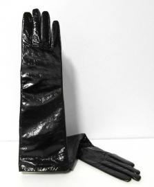 Gala-/avondhandschoen lakleer art. 2921 - zwart