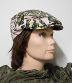 Hatland flatcap Yoel art. 57130 - beige/groen/zwart
