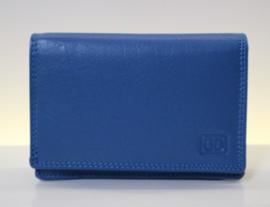 DD damesportemonnee art. 02C337 - blauw