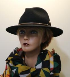 Mayser Trecking hoed Atlanta art. 1313031 - zwart