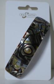 Dam'selle haarspeld marmerstructuur art. 26 830 - grijs/beige/bruin
