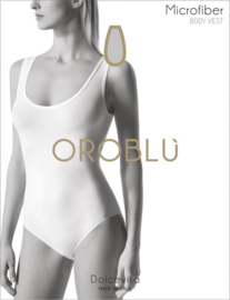 Oroblu Dolcevita Body Vest mouwloos - wit