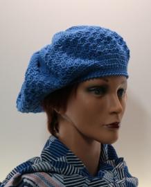 Damesbaret Sanne Z - koningsblauw