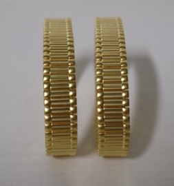 Mouwophouders Gold - goudkleur