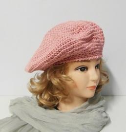 Damesbaret  Eva 15 - roze