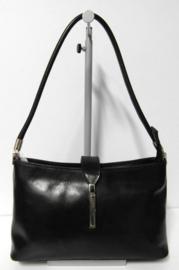Vera Pelle hand- en schoudertas art. 552121 - zwart