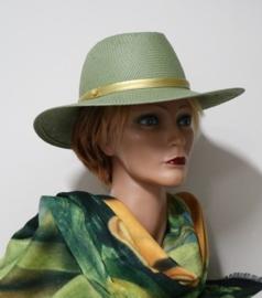 Andrea dameshoed art. 10620 - olijfgroen