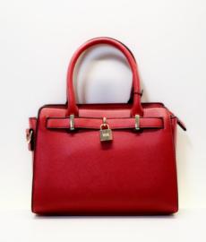 Giuliano hand- en schoudertas art. 11023 - rood