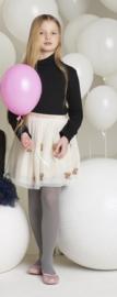 Trasparenzine kinderpanty Sina - zwart/crème