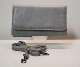 Beagles portemonnee/ schoudertasje art. 16991 - grijs