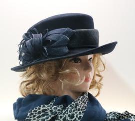 BWS dameshoed art. 2072 - donkerblauw
