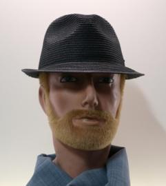 Stetson hoed Trilby art. 1328503 - zwart