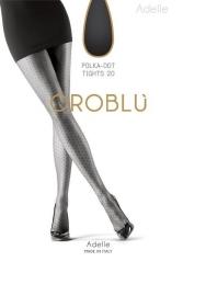 Oroblu fantasiepanty polkadot Adelle - zwart