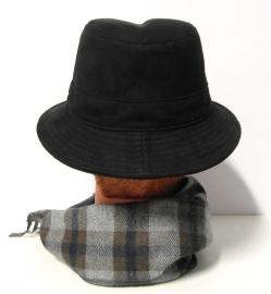 Mayser herenhoed Amaretta art. 1200378 - zwart
