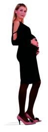 Trasparenze zwangerschapspanty Per Due 60 denier - zwart