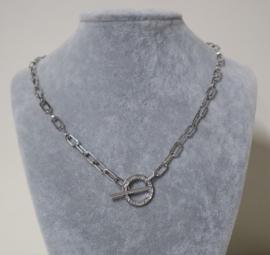 Fiell halsketting art. 210463029 - zilverkleur
