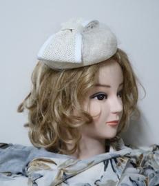 Weba Hats damesdop/haargarnering art. Z92 - offwhite