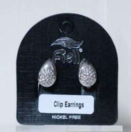 Fiell oorclip art. 5400 - zilverkleur