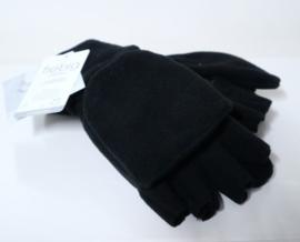 Fiebig vingerloze handschoen/want art. 46541 - zwart