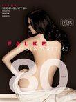 FALKE Seidenglatt 80 - zwart