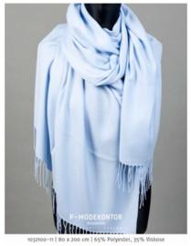 P-Modekontor pashmina shawl art.  1032100-10 - babyblauw