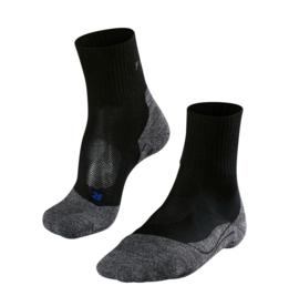 FALKE TK2 Short Cool damessokken art. 16155 - zwart/grijs