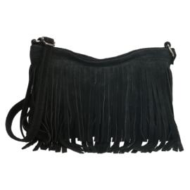 Charm schoudertasje Elisa art. L338 - zwart
