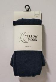 Yellow Moon kindermaillot uni art. 9300 - jeansblauw