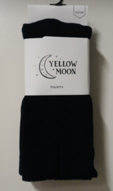Yellow Moon kindermaillot uni art. 9300 - zwart