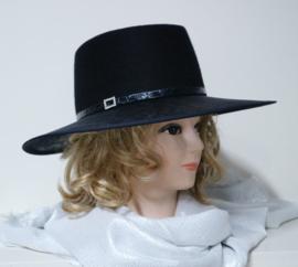 Weba Hats dameshoed  art. 9022 - donkerblauw