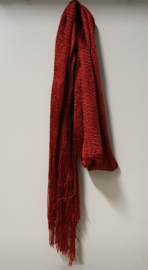 Damesshawl Lurex art. 6895 - rood