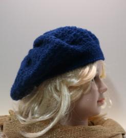 Kinderbaret Fem - koningsblauw