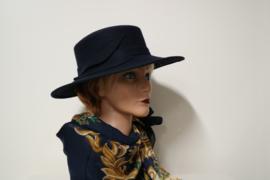Andrea dameshoed art. 10718 - donkerblauw