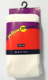 Yellow Moon kindermaillot uni art. 9300 - ecru