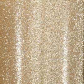 Cardstock - goud glitter - zelfklevend