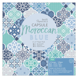 Papermania - Moroccan blue