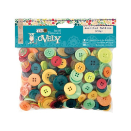 Papermania - buttons, lovely
