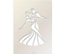 Claritystamp - Ballroom dancers