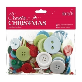 Papermania - buttons, christmas