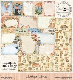 Blue Fern - Autumn Anthology cut-out