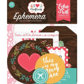 Echo Park - I love crafting - Die-cuts
