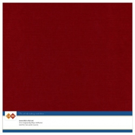 Cardstock - rood, bordeaux