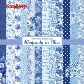 Scrapberry's - Rhapsody in blue