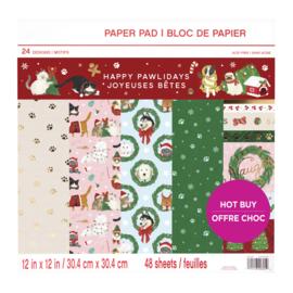 Craft Smith - Happy pawlidays 15x15