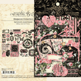 Graphic 45 - Elegance - die cuts