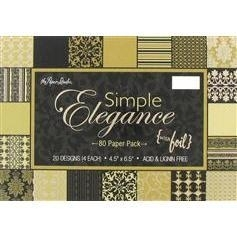 Paper Studio - Simple elegance 10x15
