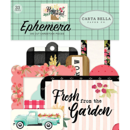 Carta Bella - Flower market - die-cuts