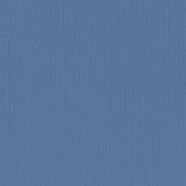 Cardstock - blauw, staal